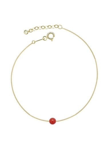 Piano Jewellery Gravity Mercan Altın Bileklik 14 Ayar Altın